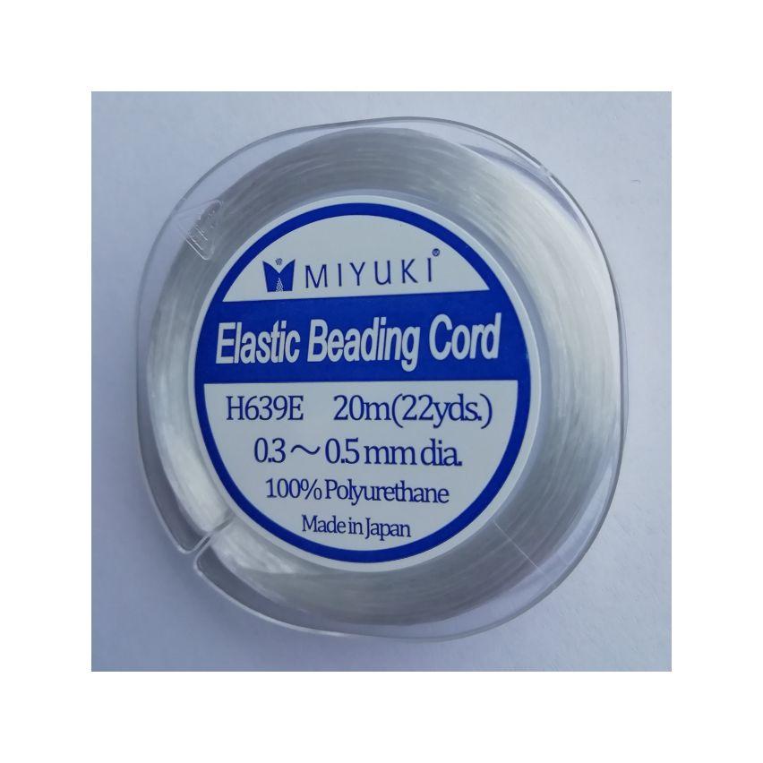 Miyuki Elastic Beading Cord aprox 0.03-0.05mm – 20m