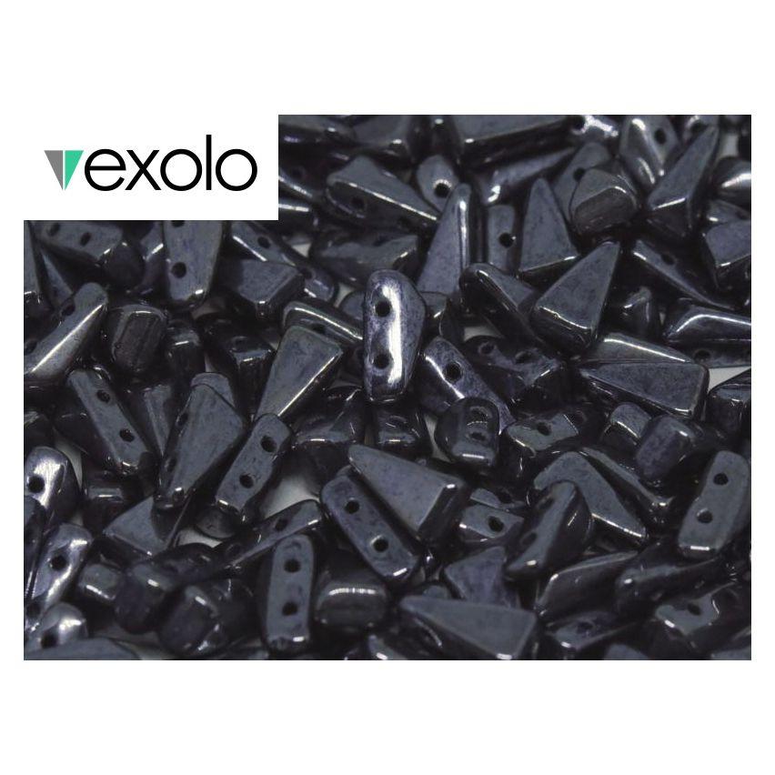 Vexolo® 5x8mm - 23980-14400 - Jet Hematite - 50pcs