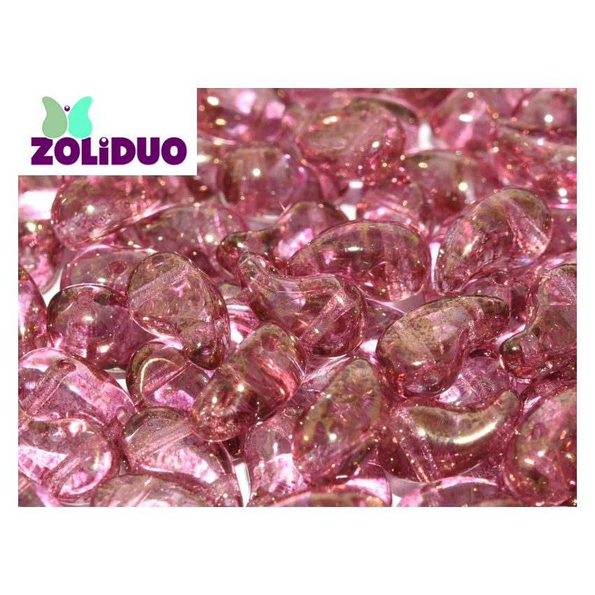 Zoliduo® Left Version - Crystal Teracota Red - 25pcs
