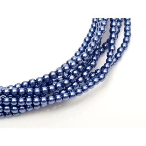 Czech Glass Pearl 4mm 10190 Persian Blue