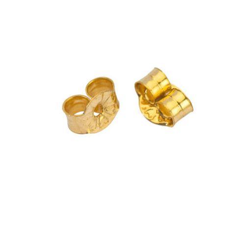 High Quality Gold Plated Ear Scrolls Ø3mm
