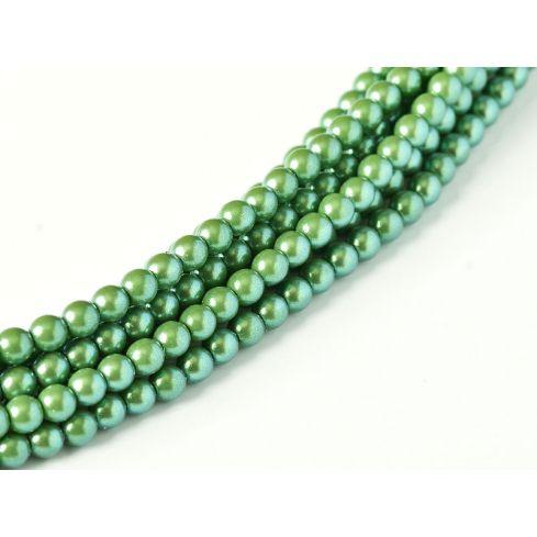 Czech Glass Pearl 4mm 30008 Evergreen