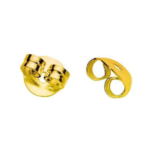 Gold-Coloured Metal Ear Backs model 2