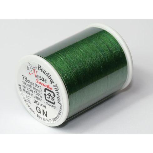 Miyuki Nozue Sonoko Beading Thread 6 GN Green