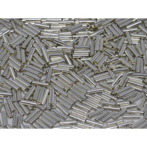 Miyuki Bugle 1051 (0181) Galvanized Silver