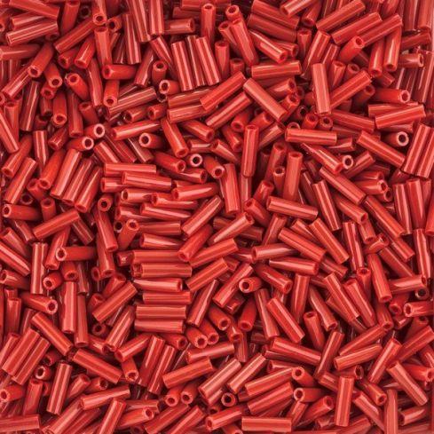 Miyuki Bugle 0408 Opaque Dark Red