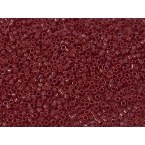 Miyuki Delica 11/0 DB1140 Opaque Dark Red