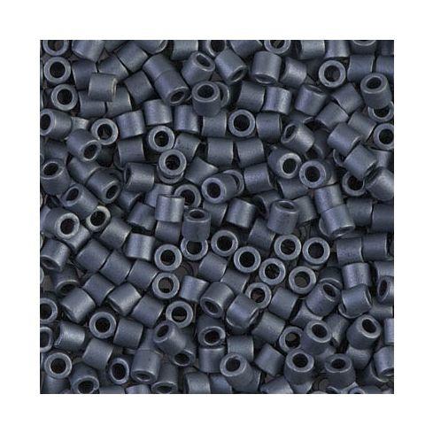 Miyuki Delica 8/0 DBL0301 Matte Metallic Black Luster