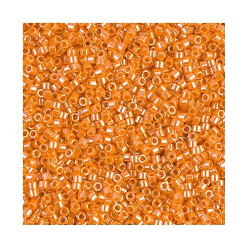 Miyuki Delica 15/0 DBS1563 Opaque Light Orange Luster