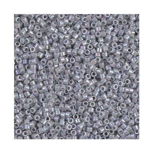 Miyuki Delica 15/0 DBS1579 Opaque Gray AB