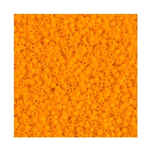 Miyuki Delica 15/0 DBS1583 Matte Opaque Light Orange