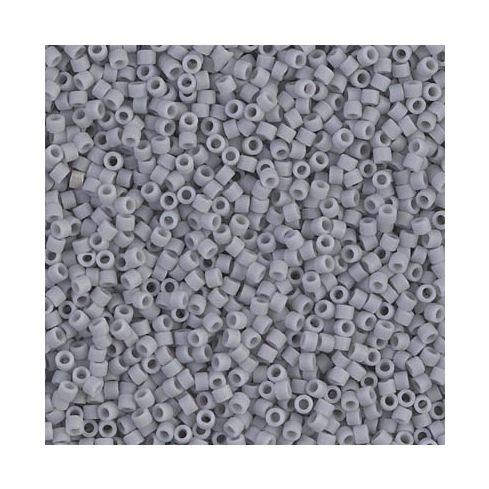 Miyuki Delica 15/0 DBS1589 Matte Opaque Gray