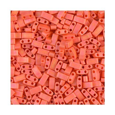Miyuki Half TILA 0406FR Opaque Orange Matted AB