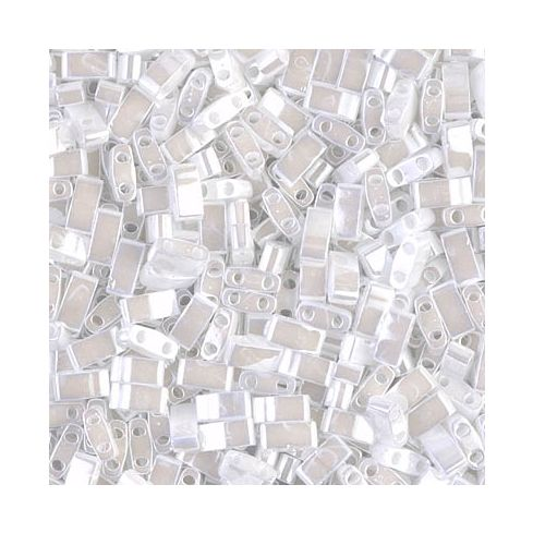 Miyuki Half TILA 0420 White Pearl Ceylon