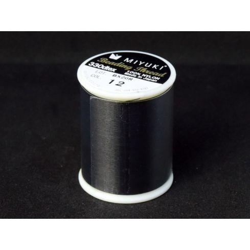 Miyuki Beading Thread K4570T/12 - Black
