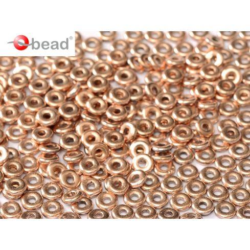 O bead ® 2x4mm - Capri Gold Full - 00030-27100