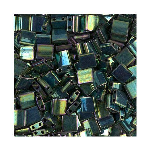 Miyuki TILA 0468 Metallic Green Iris