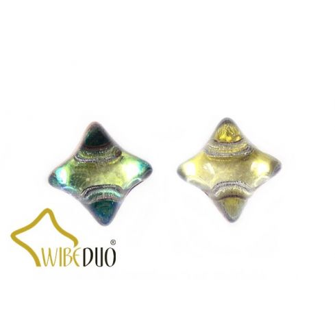 Wibeduo®  8x8mm - 00030-55002 - Crystal Prismatic Fiesta